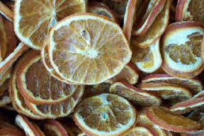 dried fruit for potpourri orange slice